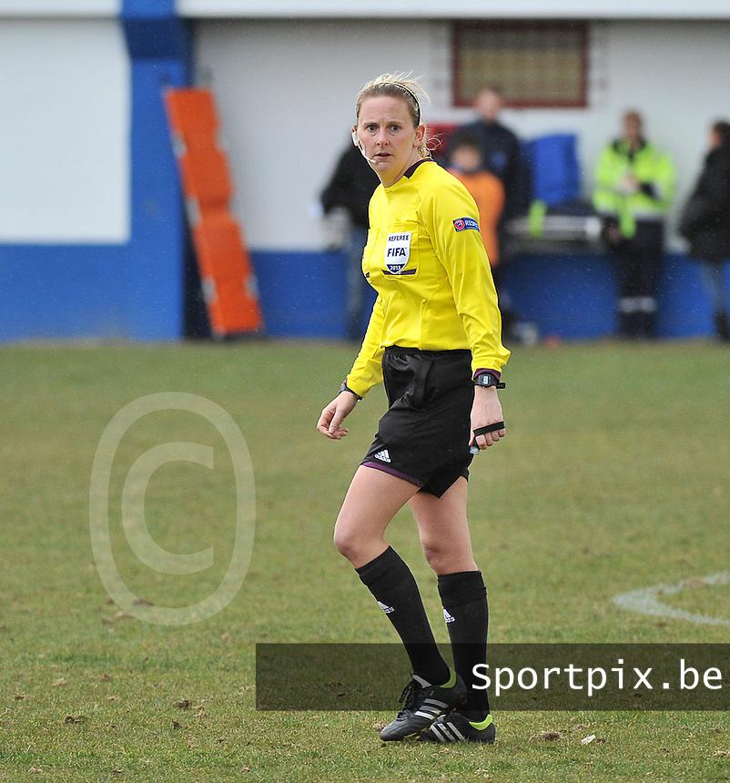 Switzerland U19 - France U19 : Rhona Daly (IRL) .foto DAVID CATRY / Nikonpro.be
