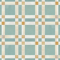 Connor, a jewel glass mosaic field shown in Serpentine, Amber, Agate, is part of the Plaids and Ginghams Collection by New Ravenna Mosaics.