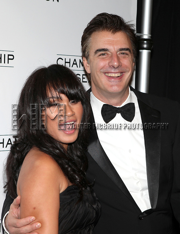 Tara Wilson and Chris Noth.attending the Opening Night Performance After Party for  'That Championship Season' at Gotham Hall in New York City.