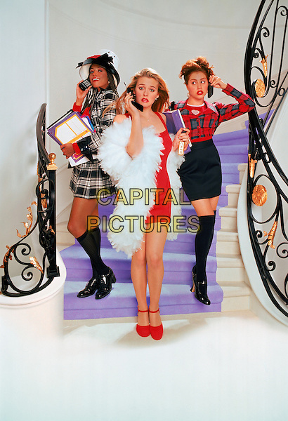 Clueless (1995) <br /> Stacey Dash, Alicia Silverstone, Brittany Murphy<br /> *Filmstill - Editorial Use Only*<br /> CAP/KFS<br /> Image supplied by Capital Pictures