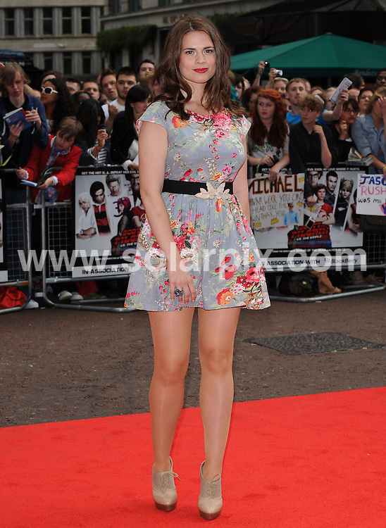**ALL ROUND PICTURES FROM SOLARPIX.COM**.**WORLDWIDE SYNDICATION RIGHTS**.UK Premier of Scott Pilgrim vs. the World, London, UK, 18 August 2010.This pic: Hayley Atwell..JOB REF: 11941       SSD     DATE: 18_08_2010.**MUST CREDIT SOLARPIX.COM OR DOUBLE FEE WILL BE CHARGED**.**MUST NOTIFY SOLARPIX OF ONLINE USAGE**.**CALL US ON: +34 952 811 768 or LOW RATE FROM UK 0844 617 7637**