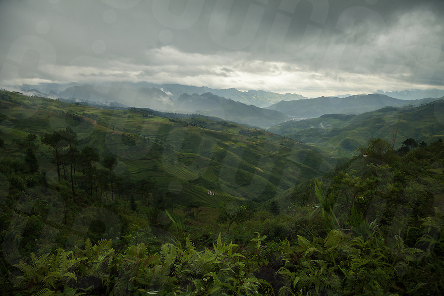 September 18, 2014 - Yen Minh (Vietnam). The stunning view from the road between Tam Son and Yen Minh. © Thomas Cristofoletti / Ruom