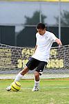 Palos Verdes, CA 02/07/12 - Erik Le (Peninsula #10) in action during the Mira Costa vs Peninsula Boys Varsity soccer bay league game.