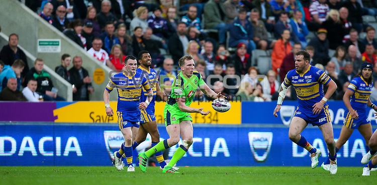 Picture by Alex Whitehead/SWpix.com - 21-22/05/2016 - Rugby League - First Utility Super League - Dacia Magic Weekend - St. James's Park, Newcastle, England - The Brief.