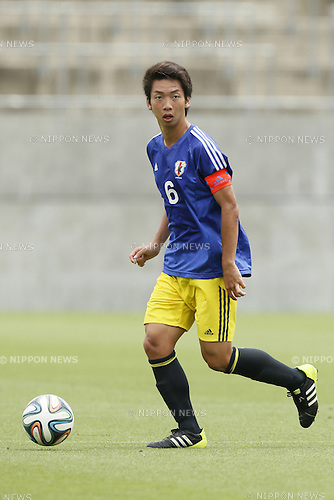 Hayato Kawabe,<br /> JULY 1, 2014 - Football / Soccer : <br /> Training match between U-19 Japan 1-2 Omiya Ardija<br /> at NACK5 Stadium Omiya, Saitama, Japan. <br /> (Photo by SHINGO ITO/AFLO SPORT)