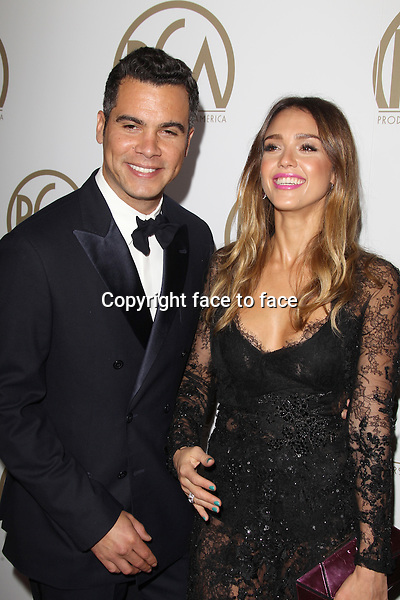 BEVERLY HILLS, CA - JANUARY 26: Cash Warren and Jessica Alba at the 24th Annual Producers Guild of America Awards at The Beverly Hilton Hotel in Beverly Hills, California...Credit: MediaPunch/face to face..- Germany, Austria, Switzerland, Eastern Europe, Australia, UK, USA, Taiwan, Singapore, China, Malaysia and Thailand rights only -