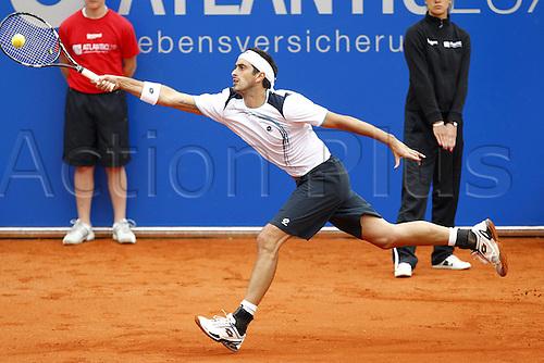 03.05.2012. Munich, Germany.BMW Open 2011 250 ATP Tennis men World Tour Tennis Tournament International Series IphitTennis Club.   Potito Starace ITA