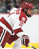 Marshall Everson (Harvard - 21) - The Harvard University Crimson defeated the visiting Colgate University Raiders 4-2 on Saturday, November 12, 2011, at Bright Hockey Center in Cambridge, Massachusetts.