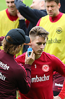 11.04.2017: Eintracht Frankfurt Training