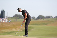 Henrik Stenson (SWE) putts on the 12th hole during the 118th U.S. Open Championship at Shinnecock Hills Golf Club in Southampton, NY, USA. 17th June 2018.<br /> Picture: Golffile | Brian Spurlock<br /> <br /> <br /> All photo usage must carry mandatory copyright credit (&copy; Golffile | Brian Spurlock)
