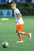 Allston, MA - Wednesday Aug. 31, 2016: Rebecca Moros prior to a regular season National Women's Soccer League (NWSL) match between the Boston Breakers and the Houston Dash at Jordan Field.