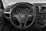 Car pictures of steering wheel view of a 2016 Volkswagen Caravelle Comfortline 5 Door Minivan Steering Wheel