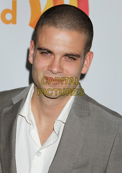 MARK SALLING.21st Annual GLAAD Media Awards held at the Hyatt Regency Century Plaza Hotel, Beverly Hills, California, USA..April 17th, 2010.headshot portrait white grey gray.CAP/ADM/MJ.©Michael Jade/AdMedia/Capital Pictures.