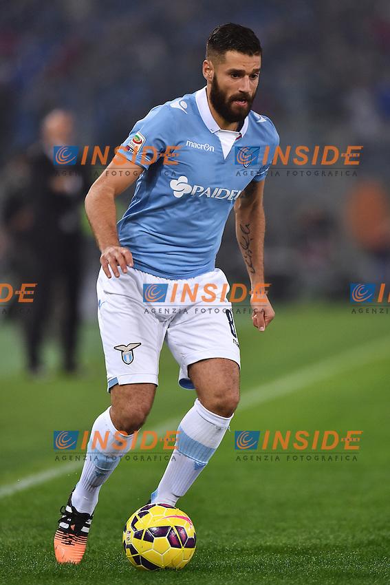 Antonio Candreva Lazio <br /> Roma 22-11-2014 Stadio Olimpico, Football Calcio Serie A . Lazio - Juventus. Foto Andrea Staccioli / Insidefoto
