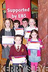 HANDWRITING: Children from schools around the Kerry region who were presented with their prizes in the Handwriting Competition 2007 at the EBS/INTO Awards Ceremony on Tuesday evening at The Meadowlands Hotel,