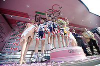 Giro d'Italia stage 13.Savano-Cervere: 121km..Best Team: Lotto-Belisol