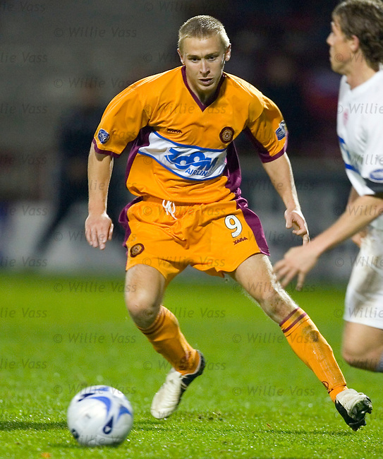 Richie Foran, Motherwell.stock season 2005-2006.pic willie vass