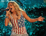 NASHVILLE, TN - JUNE 08:  Carrie Underwood performs at LP Field during the 2012 CMA Music Festival on June 8, 2012 in Nashville, Tennessee.  (Photo by Frederick Breedon IV/WireImage) *** Local Caption *** Carrie Underwood