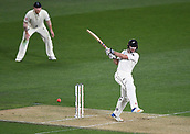 22nd March 2018, Eden Park, Auckland, New Zealand; International Test Cricket, New Zealand versus England, day 1;  Henry Nicholls batting