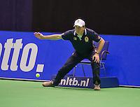 December 18, 2014, Rotterdam, Topsport Centrum, Lotto NK Tennis, Linesman<br /> Photo: Tennisimages/Henk Koster