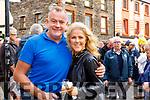 John Foley and Mary Stapleton Foley at the Dingle food Festival on Saturday