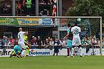 29.07.2017, Heinz-Dettmer-Stadion, Lohne, GER, FSP, SV Werder Bremen vs West Ham United<br /> <br /> im Bild<br /> Luca Caldirola (Werder Bremen #3) trifft per Kopfball zum 1:0, <br /> <br /> Foto &copy; nordphoto / Ewert