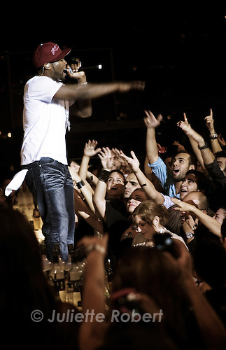 50 Cent concert at the very select nightclub &quot;Skybar&quot;, in Beirut<br /> <br /> Concert de 50 Cent au Skybar, bo&icirc;te de nuit la plus &quot;select&quot; de Beyrouth