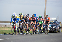 Early breakaway group<br /> <br /> 3 Days of De Panne 2017<br /> Morning stage 3: De Panne-De Panne (111,5km)