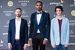 Jaume Ulled, Will Shephard and Marcos Franz attends to 'Blood Red Carpet' at Sitges Film Festival in Barcelona, Spain October 11, 2017. (ALTERPHOTOS/Borja B.Hojas)