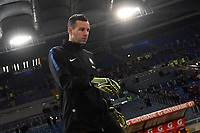 Samir Handanovic of Internazionale is seen ahead the Serie A 2018/2019 football match between AS Roma and FC Internazionale at stadio Olimpico, Roma, December, 2, 2018 <br />  Foto Andrea Staccioli / Insidefoto
