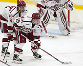 Clay Anderson (Harvard - 5), Seb Lloyd (Harvard - 15) - The Harvard University Crimson defeated the visiting Cornell University Big Red on Saturday, November 5, 2016, at the Bright-Landry Hockey Center in Boston, Massachusetts.