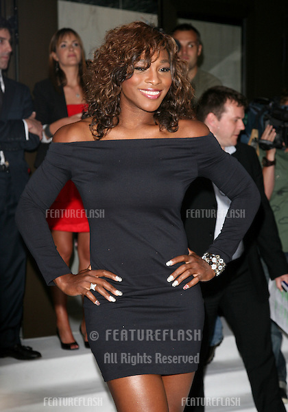 Serena Williams arriving for the Pre-Wimbledon Party, Kensington Roof Gardens, London. 17/06/2010  Picture by: Alexandra Glen / Featureflash