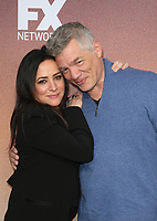 "10 May 2019 - North Hollywood, California - Pamela Adlon, Matthew Glave. FYC Red Carpet Event For Season 3 Of FX's ""Better Things"" held at The Saban Media Center. Photo Credit: Faye Sadou/AdMedia"