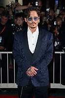 "VENICE, ITALY - SEPTEMBER 06: Johnny Depp walks the red carpet ahead of the ""Waiting For The Barbarians"" screening during the 76th Venice Film Festival at Sala Grande on September 06, 2019 in Venice, Italy. (Photo by Mark Cape/Insidefoto)<br /> Venezia 06/09/2019"