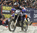 10.02.2013 Barcelona , Spain. FIM Superenduro World Championships. Picture show Christophe Bruand riding Sherco during GP of Catalonia at Palau St. Jordi