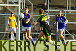 Jonathan Lyne Kerry in action against Donal Vaughan Mayo in the first round of the National Football League at Fitzgerald Stadium Killarney on Sunday.