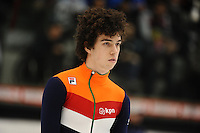 SHORT TRACK: TORINO: 14-01-2017, Palavela, ISU European Short Track Speed Skating Championships, Final A 500m Men, Dylan Hoogerwerf (NED), ©photo Martin de Jong