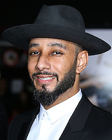 WESTWOOD, LOS ANGELES, CA, USA - NOVEMBER 03: Swizz Beatz arrives at the Los Angeles Premiere Of Universal Pictures and Red Granite Pictures' 'Dumb and Dumber To' held at the Regency Village Theatre on November 3, 2014 in Westwood, Los Angeles, California, United States. (Photo by Xavier Collin/Celebrity Monitor)
