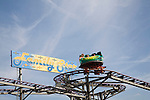 Family Star funfair ride, Great Yarmouth, Norfolk, England