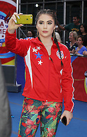 NEW YORK, NY-August 11: McKayla Maroney Olymic Gold winner at Good Morning America go for GMA Games Gold in New York. NY August 11, 2016. Credit:RW/MediaPunch