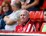 Sheffield Utd fan during the Championship match at Bramall Lane, Sheffield. Picture date 26th August 2017. Picture credit should read: Simon Bellis/Sportimage
