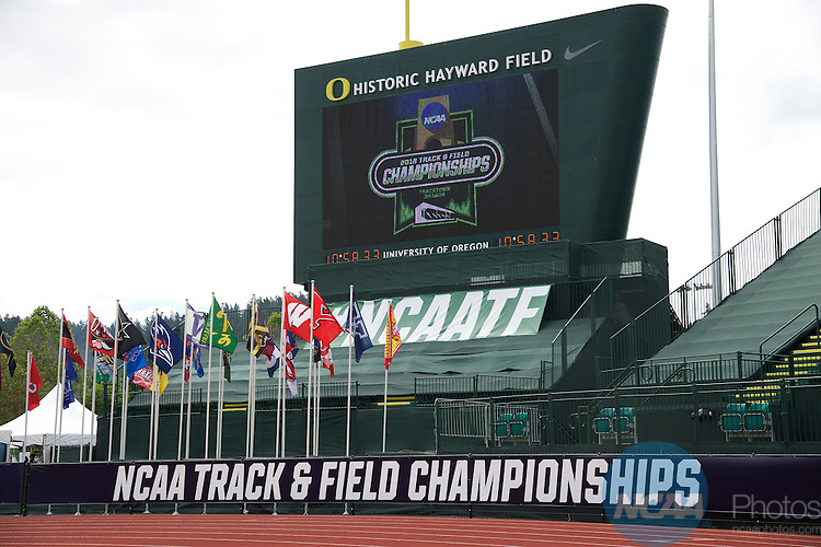 11 JUNE 2016:  The Division I Women's Outdoor Track & Field Championship is held at Hayward Field in Eugene, OR.  Jamie Schwaberow/NCAA Photos