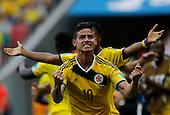 Colombia contra Costa de Marfil