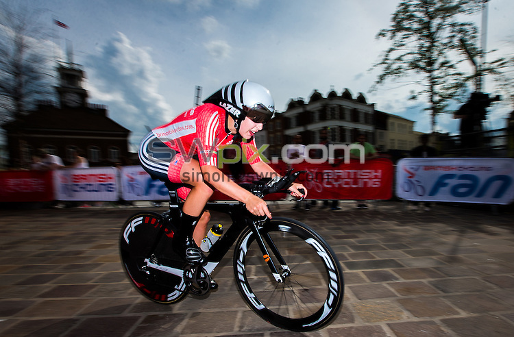 Picture by Alex Whitehead/SWpix.com - 23/06/2016 - Cycling - British Cycling National Championships - Time Trial - Stockton-upon-Tees, England - Team Breeze's Manon Lloyd