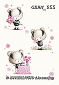 Roger, CUTE ANIMALS, LUSTIGE TIERE, ANIMALITOS DIVERTIDOS, paintings+++++_RM-15-1151,GBRM955,#ac# ,everyday