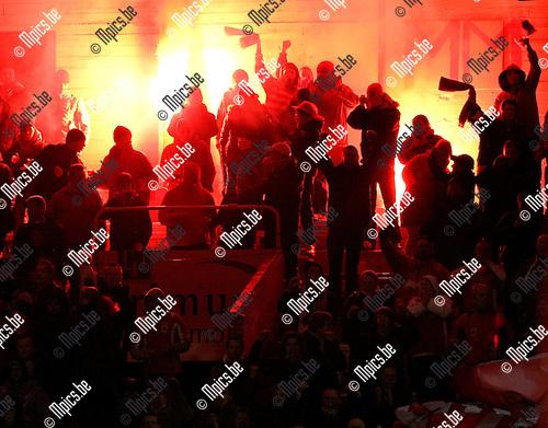 2010-03-06 / Voetbal / seizoen 2009-2010 / R. Antwerp FC - KVK Tienen / Supporter..Foto: mpics