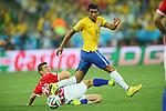 Paulinho (BRA), <br /> JUNE 12, 2014 - Football /Soccer : <br /> 2014 FIFA World Cup Brazil <br /> Group Match -Group A- <br /> between Brazil 3-1 Croatia <br /> at Arena de Sao Paulo, Sao Paulo, Brazil. <br /> (Photo by YUTAKA/AFLO SPORT)