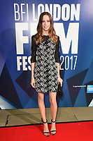 Chloe Pirrie<br /> arriving for the 2017 London Film Festival Awards at Banqueting House, London<br /> <br /> <br /> ©Ash Knotek  D3336  14/10/2017