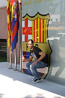 jordi alba presentacion, baarcelona 4 julio2012