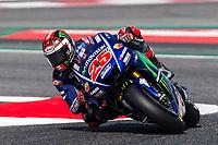 Maverick Vinales of Spain and Movistar Yamaha MotoGP Team  rides during free practice for the MotoGP of Catalunya at Circuit de Catalunya on June 10, 2017 in Montmelo, Spain.(ALTERPHOTOS/Rodrigo Jimenez) (NortePhoto.com) (NortePhoto.com)